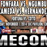 Andrzej Fonfara in main event showcase against Doudou Ngumbu, Saturday, November 1