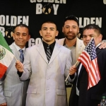 Frankie Gomez Stays Loyal to Golden Boy, Oscar De la Hoya