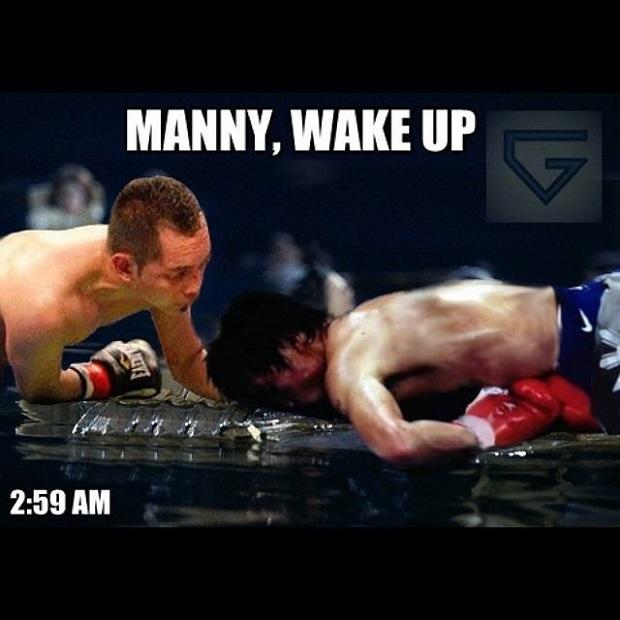 manny wake up