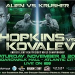 Kovalev-Hopkins Ratings Hit, Delivers Strong Live Viewership Numbers