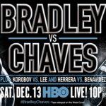 Tim Bradley and Diego Chaves headline HBO tripleheader this Saturday