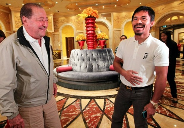arum and pacquiao in taipei