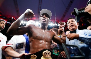 erislandy lara with belt