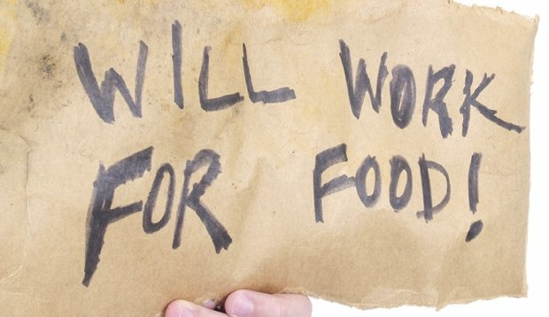 will work for food
