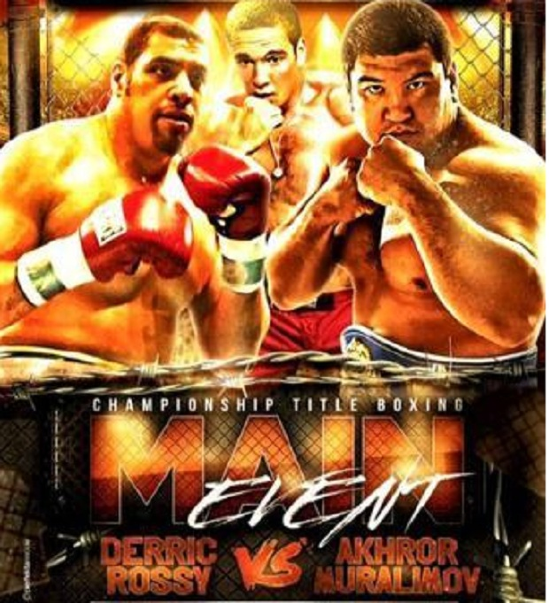 rossy fight poster