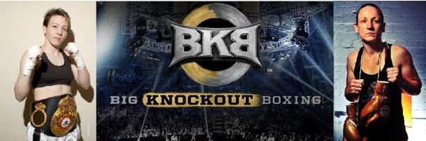 Layla McCarter (36-13-5, 8 KO's) will face Diana Prazak (13-3, 9 KO's) in the first BKB female match up.