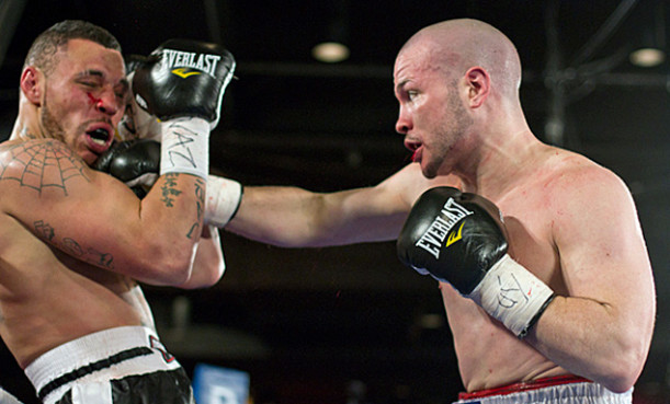 Will Rosinsky (r) fights on a pro-am card at MSG Saturday