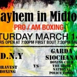 McMayhem in Midtown: Charity Pro-Am at MSG