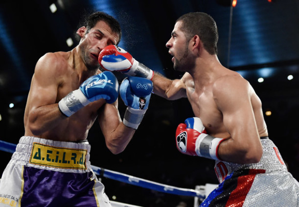 Sadam Ali (r) fights on the Klitschko-Jennings under-card this Saturday