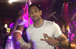 Amir Khan with money