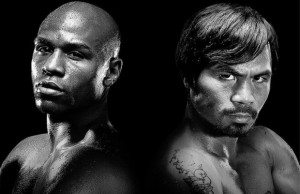 mayweather-pacquiao black and white2