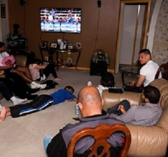 men watching TV2