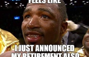 broner meme retired