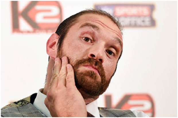 Tyson Fury Thinks He Can Beat Anthony Joshua