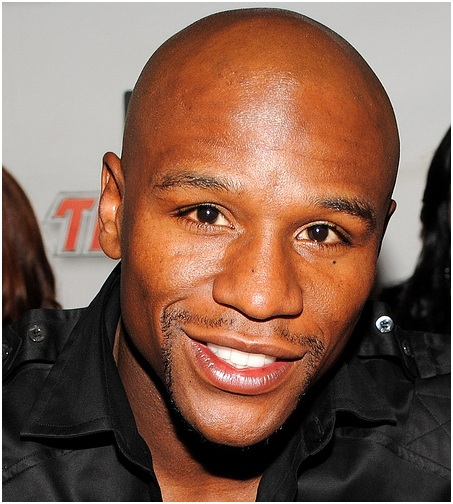 mayweather face