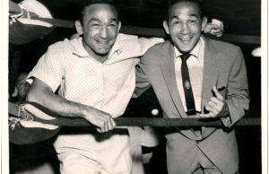 Carmen Basilio and Willie Pep