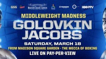 Gennady Golovkin Gets Dusty Win Over Daniel Jacobs, Roman Gonzalez Falls in New York.