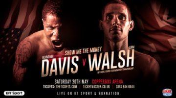 Gervonta Davis vs Liam Walsh Preview