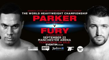 Joseph Parker Beats Hughie Fury In Sloppy Bout