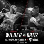 Bombs Away! Wilder vs. Ortiz Set for November 4