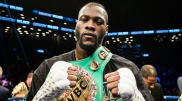 Deontay Wilder Calls Out Anthony Joshua: War Awaits
