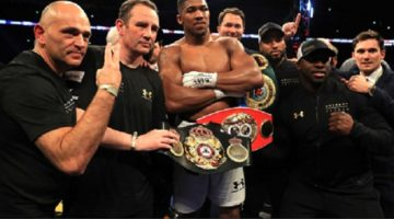 Doesn't look like Joshua has forgotten Parker's steroids jibe! Seems determined to make him pay