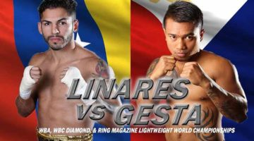 Jorge Linares vs. Mercito Gesta Interviews and Fight Preview