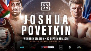 Five best bets for Anthony Joshua vs Alexander Povetkin